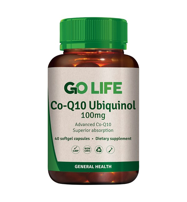 CO-Q10 Ubiquinol 100mg
