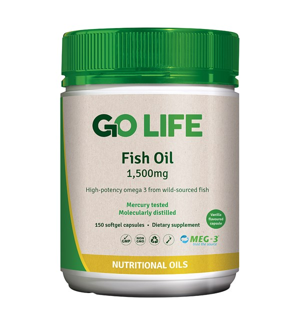 Fish Oil 1,500mg