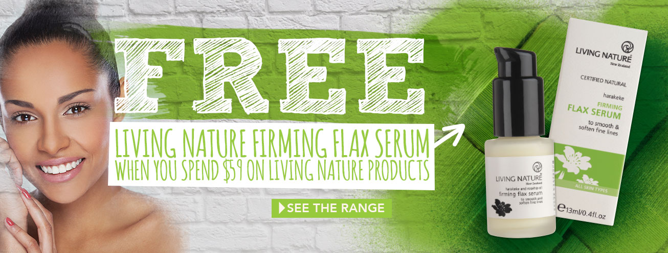 Find defence against fine lines and wrinkles with FREE Firming Flax Serum