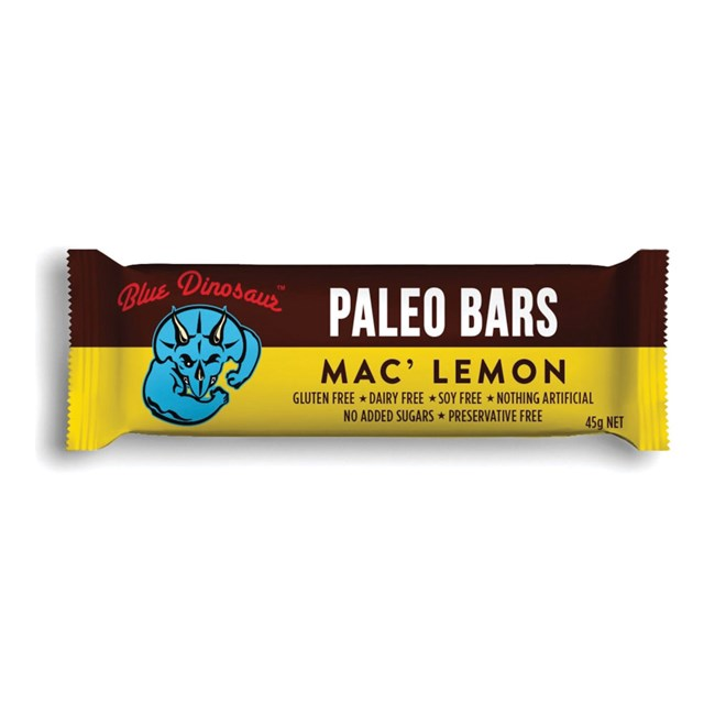 Paleo Bar Mac Lemon 45gm