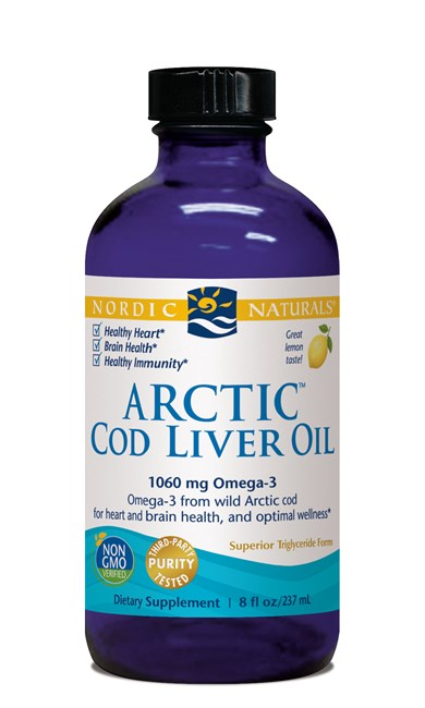 Arctic Cod Liver Oil - Lemon