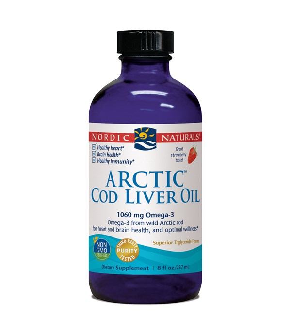 Arctic Cod Liver Oil - Strawberry