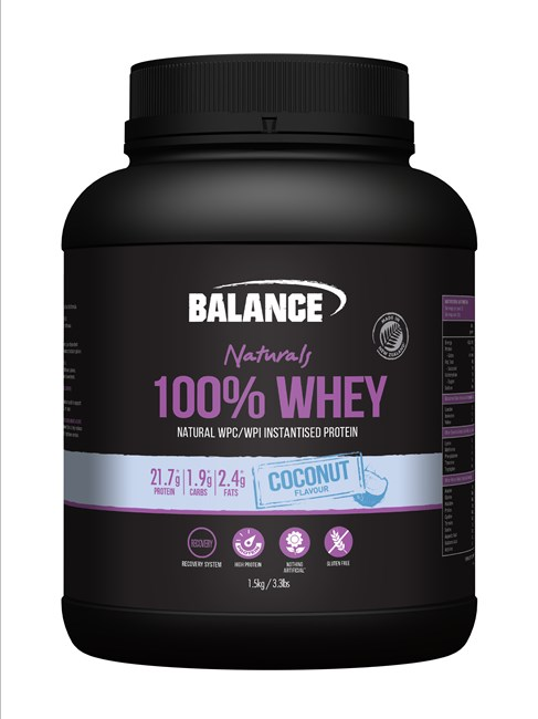 100% Whey Natural Coconut