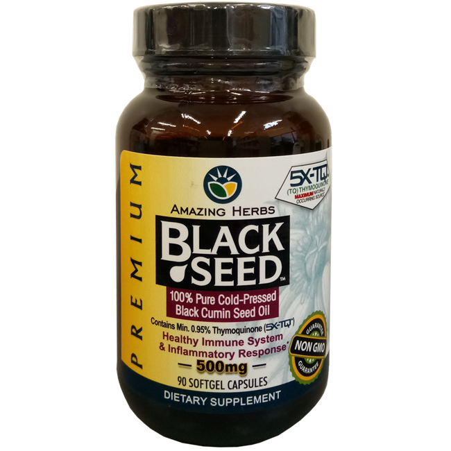 Premium Black Seed Oil 500mg