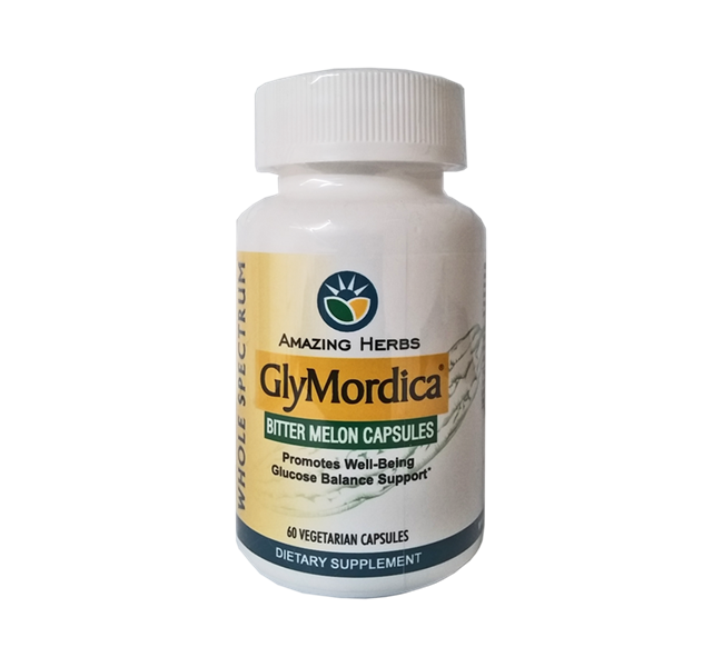 Amazing Herbs | Glymordica | Bitter Melon | Glucose Support