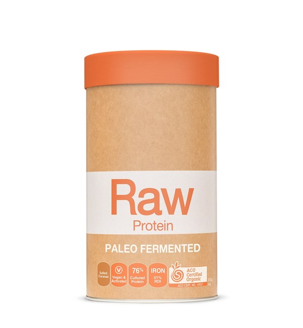 Raw Paleo Fermented Protein Salted Caramal