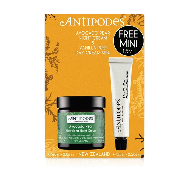 Discovery Set - Avocado Pear Night Cream with Vanilla Pod Mini