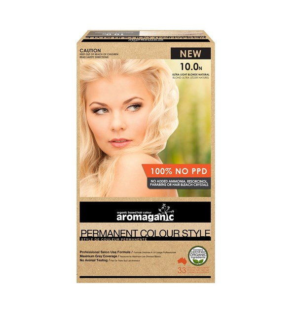 10.0N Ultra Light Blonde Hair Colour