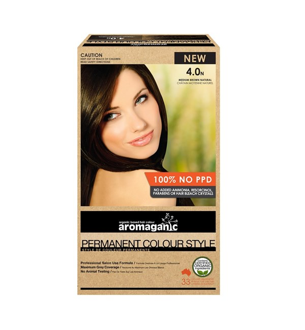 4.0N Medium Brown Hair Colour