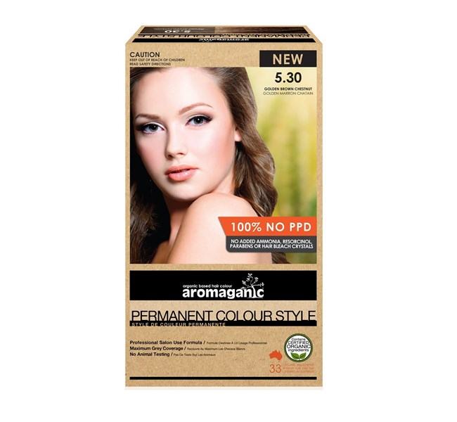 5.30 Golden Brown Chestnut Hair Colour
