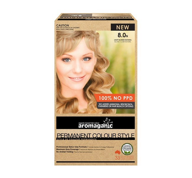 8.0N Light Blonde Hair Colour