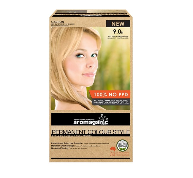 9.0N Very Light Blonde Hair Colour