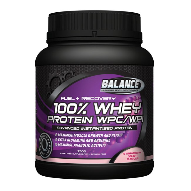 100% Whey Protein WPC/WPI - Strawberry