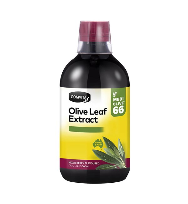Olive Leaf Extract - Mixed Berry