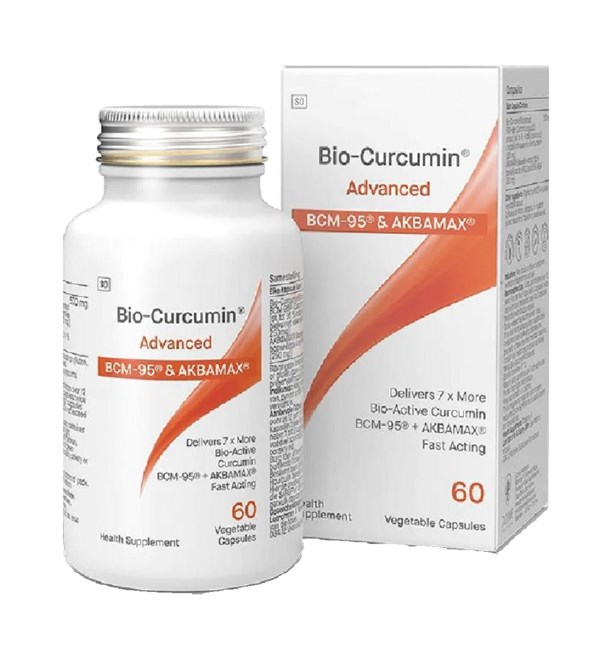 BioCurcumin Advanced - BCM95® with Boswellia serrata extract AKBAMAX