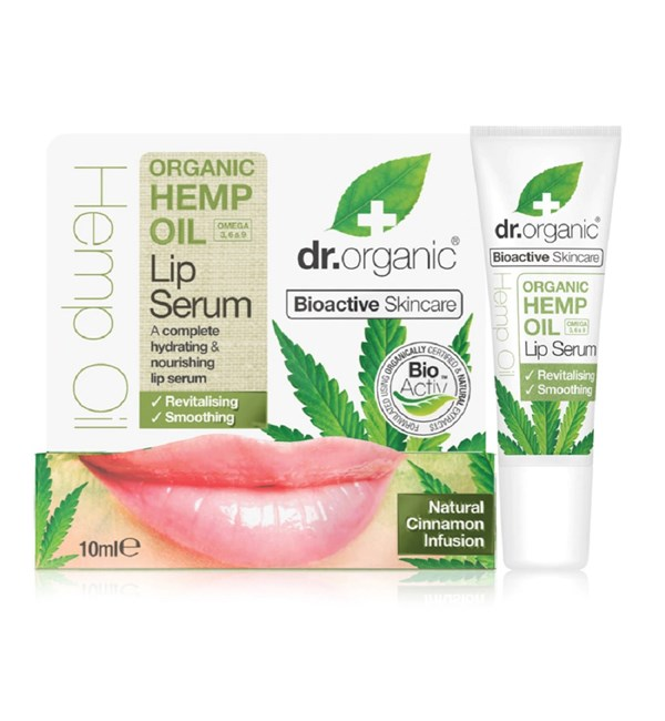 Organic Hemp Oil Lip Serum
