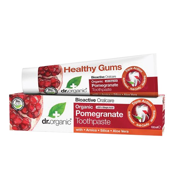 Organic Pomegranate Toothpaste