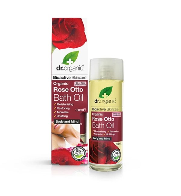 Organic Rose Otto Bath Oil