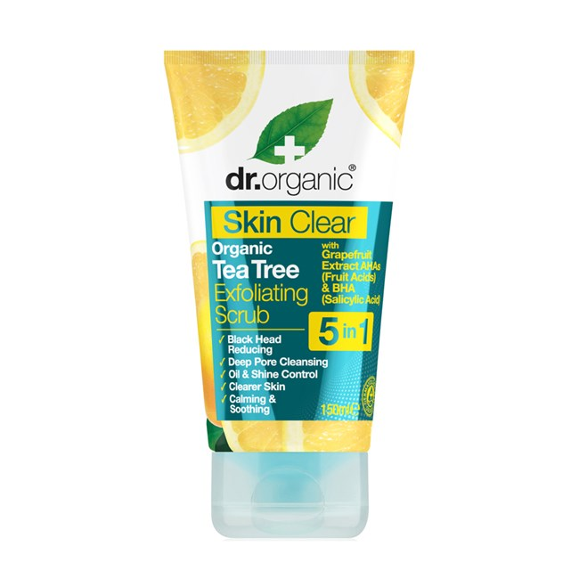 Tea Tree Exfoliating Face Scrub