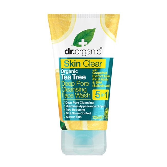 Tea Tree Deep Pore Face Wash