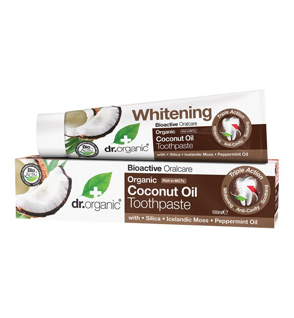 Organic Coconut Oil Toothpaste