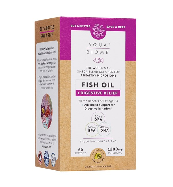 Aqua Biome™ Fish Oil Digestive Relief