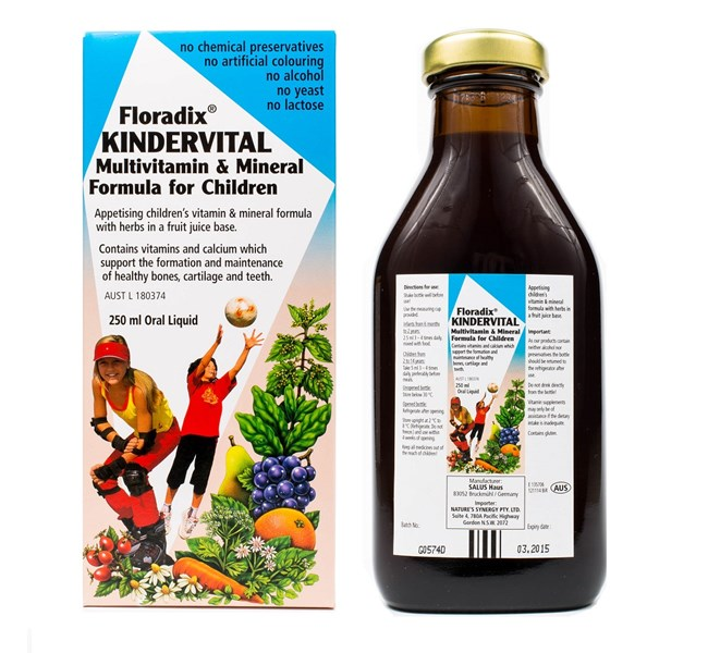 Floradix Kindervital for Children