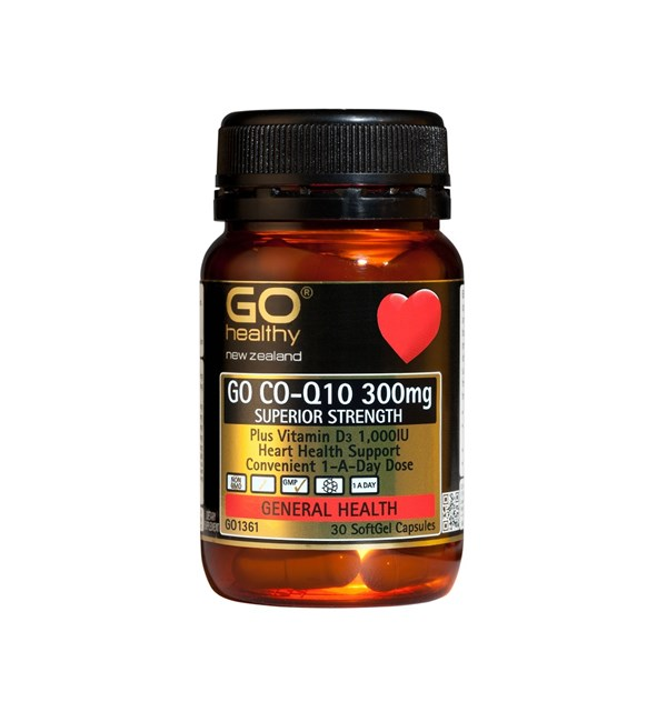 GO Co-Q10 300mg + Vit D3