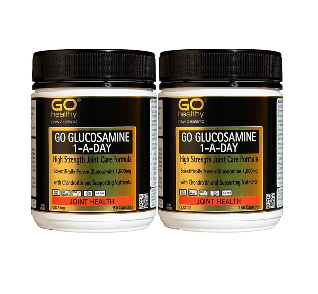 GO Glucosamine 1-A-Day (Twin Pack)