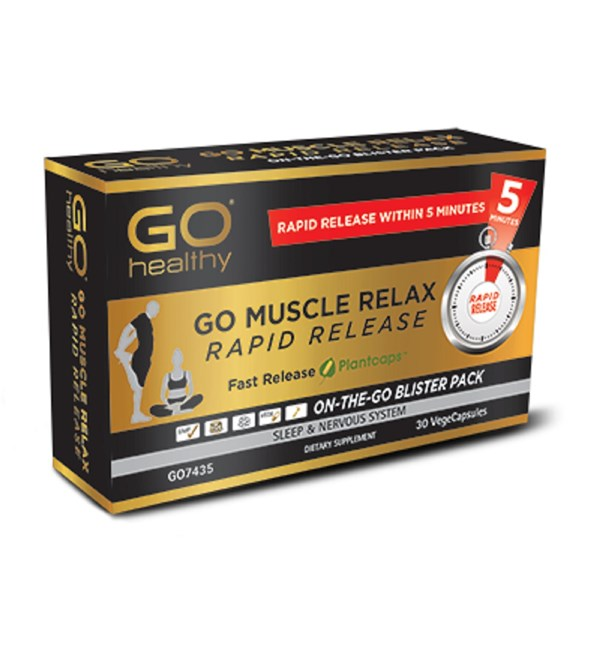 GO Muscle Relax Rapid Release