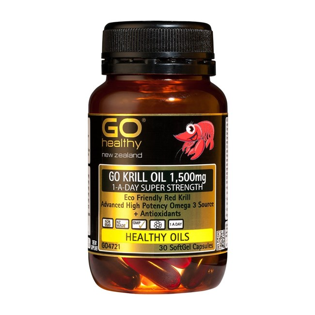 GO Krill Oil 1,500mg