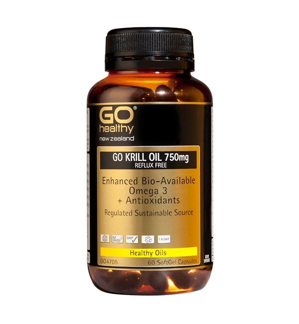 GO Krill Oil 750mg