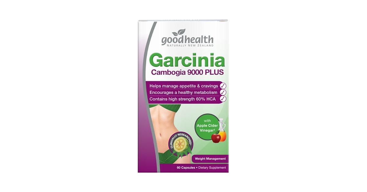 Good Health Garcinia Cambogia 9000 Plus With Apple Cider Vinegar