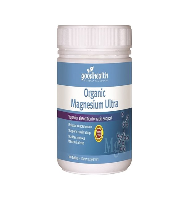 Organic Magnesium Ultra (Best Before 02/2021)