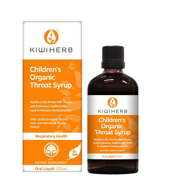 Children's Organic Throat Syrup