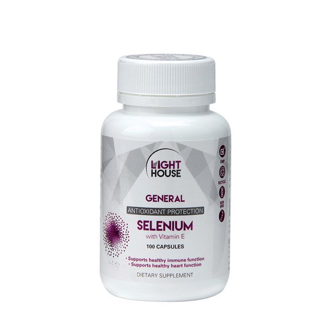 Selenium with Vitamin E