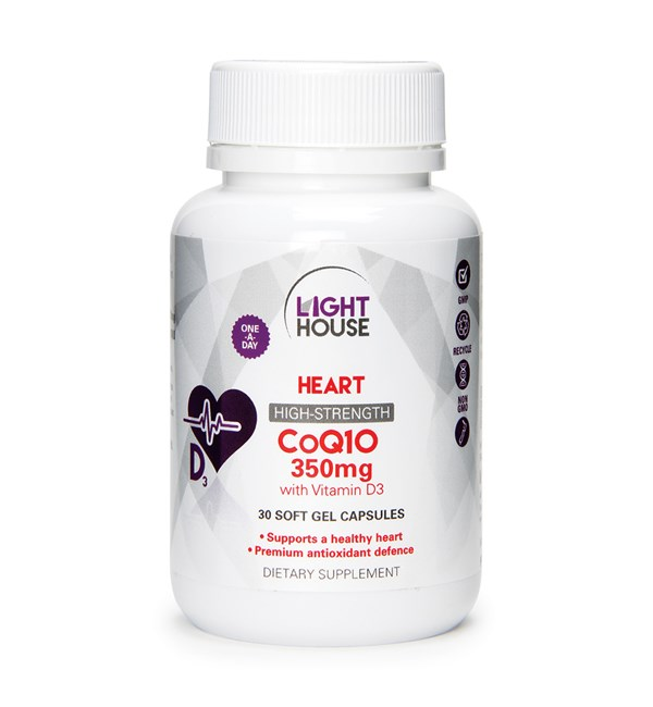CoQ10 350mg with Vitamin D3