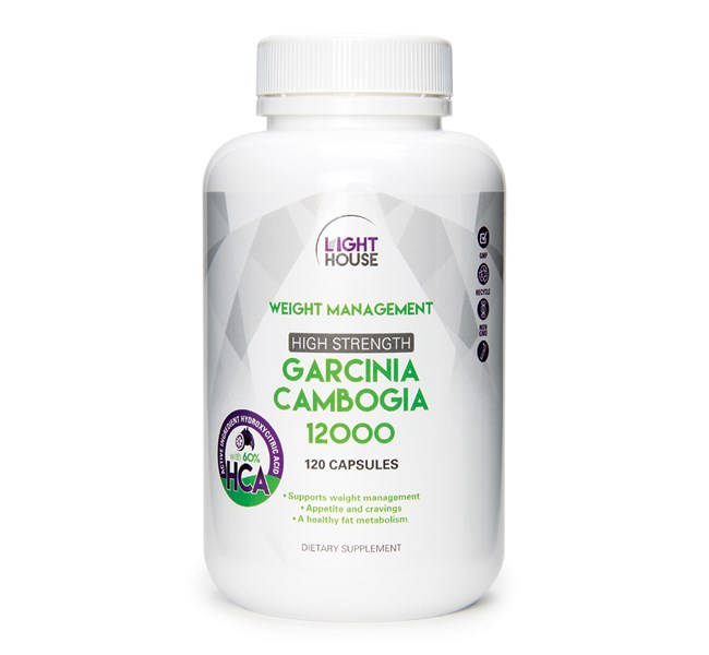 Lighthouse Garcinia Cambogia High Strength Health 2000