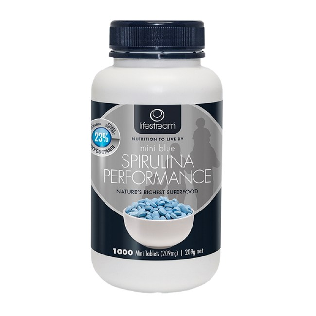 Spirulina Performance Mini Blue