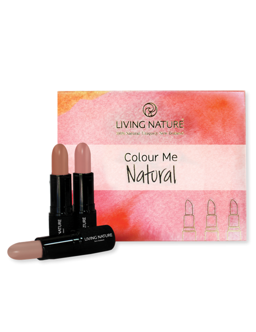 Colour Me Natural - Lipstick Pack
