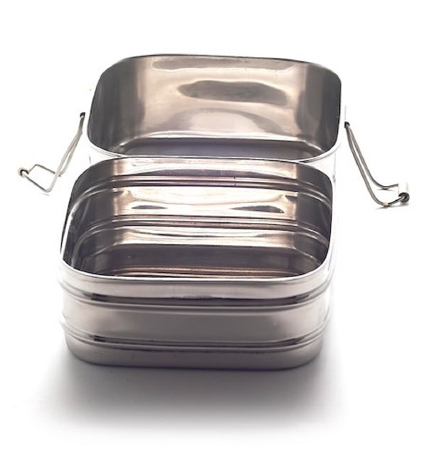 Twin Layer Square Lunchbox