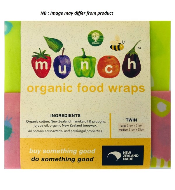 Organic Reusable Food Wraps