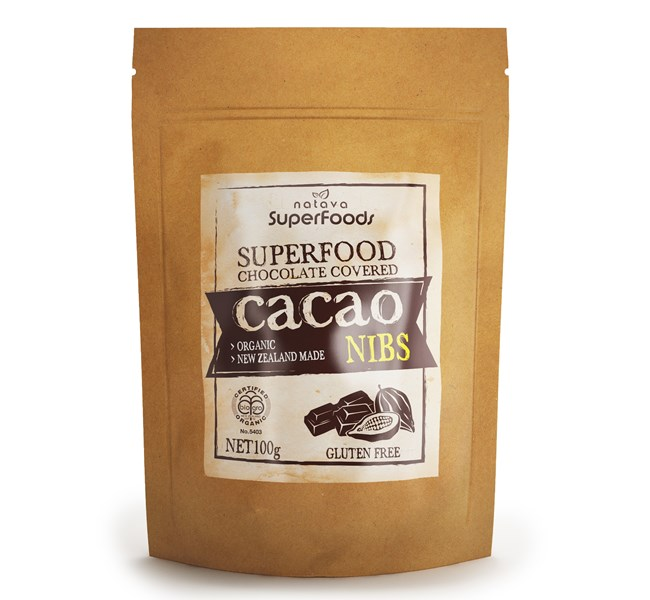 Superfood Chocolate Covered Cacao Nibs