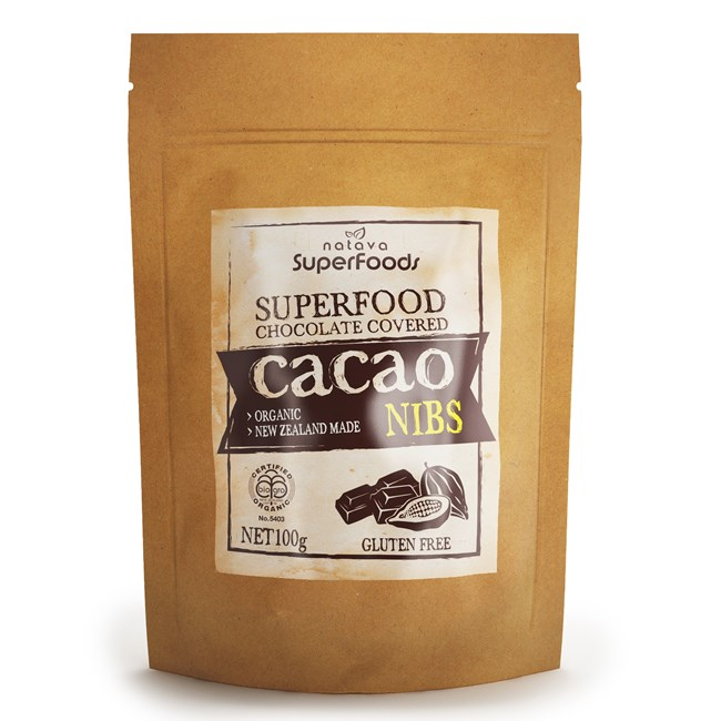 Superfood Chocolate - Cacao Nibs