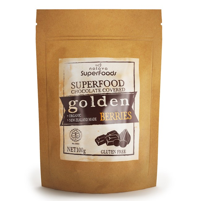 Superfood Chocolate - Golden Berries