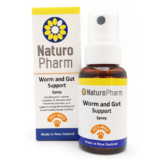 Pet-Med Worm and Gut Support Oral Spray