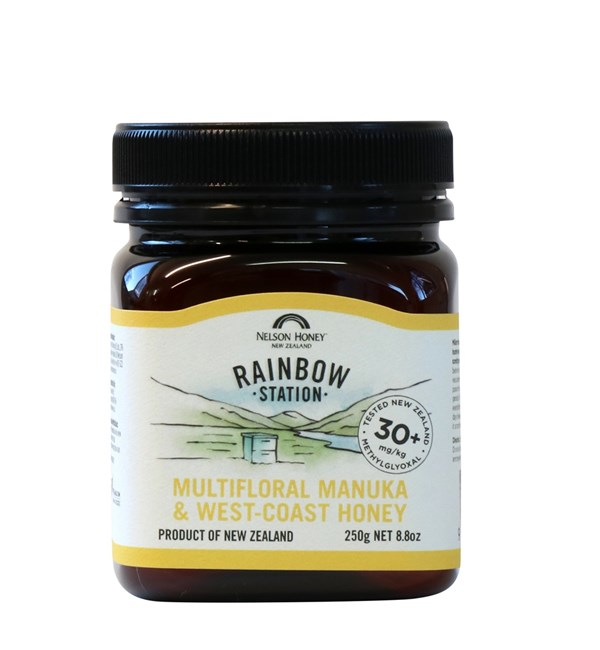 Rainbow Station Multiflora Manuka & Westcoast Honey MG 30+