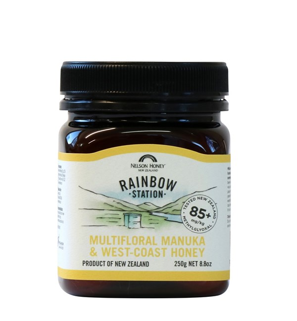 Rainbow Station Multiflora Manuka & Westcoast Honey MG 85+