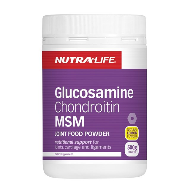 Glucosamine Chondroitin MSM Joint Food