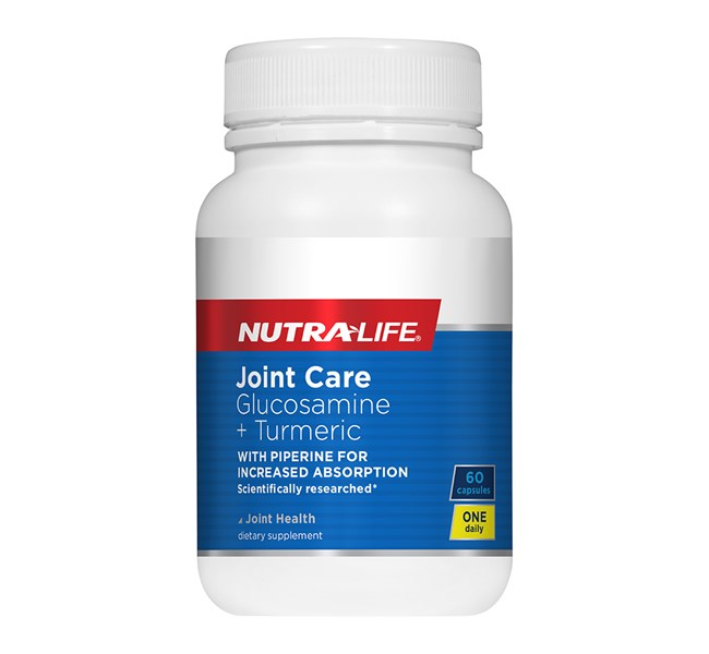 Joint Care 1-a-Day Glucosamine + Tumeric